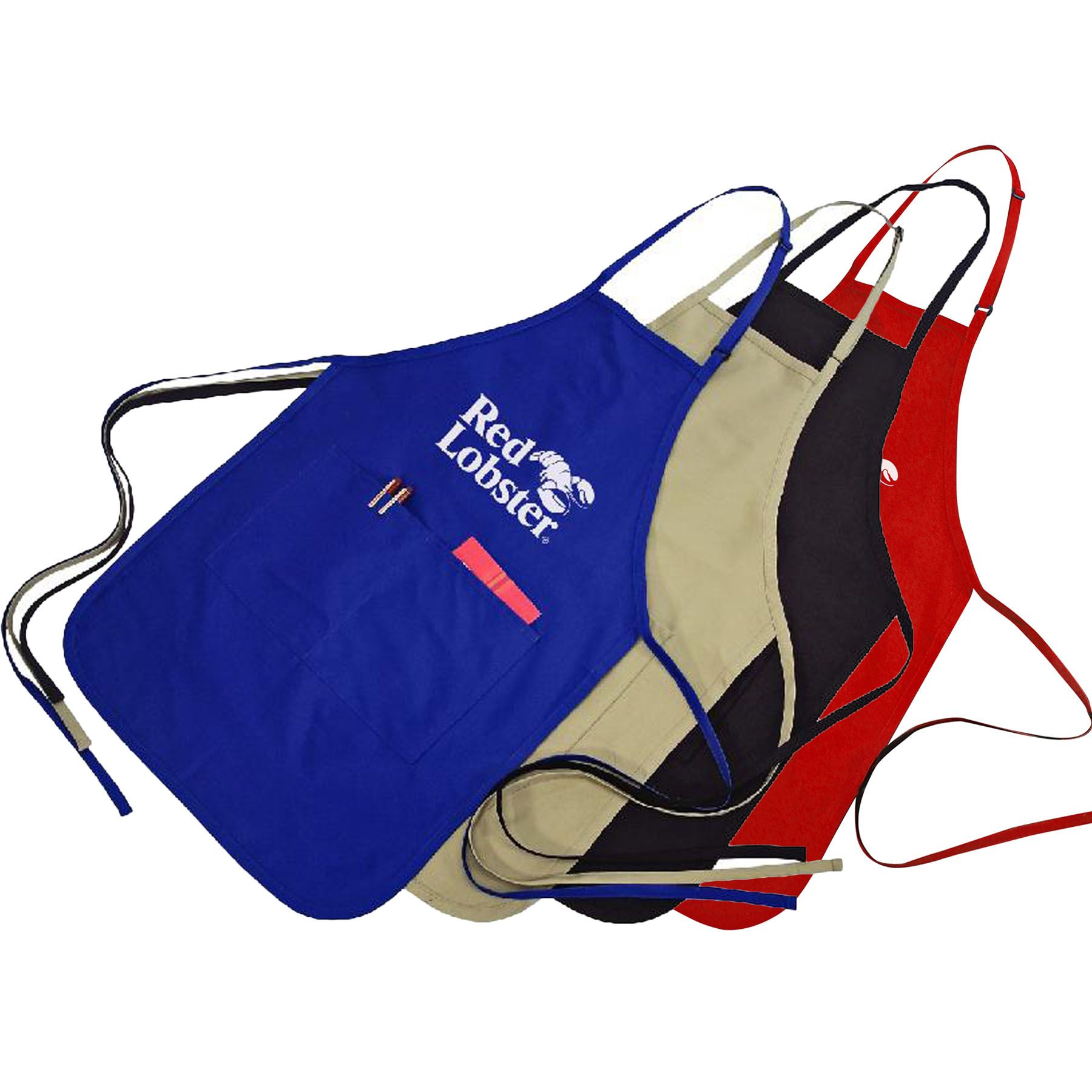 two pocket adjustable apron